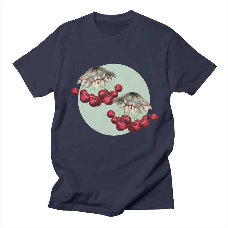 Cherryfish Men's Regular T-Shirt by sigmablade collage