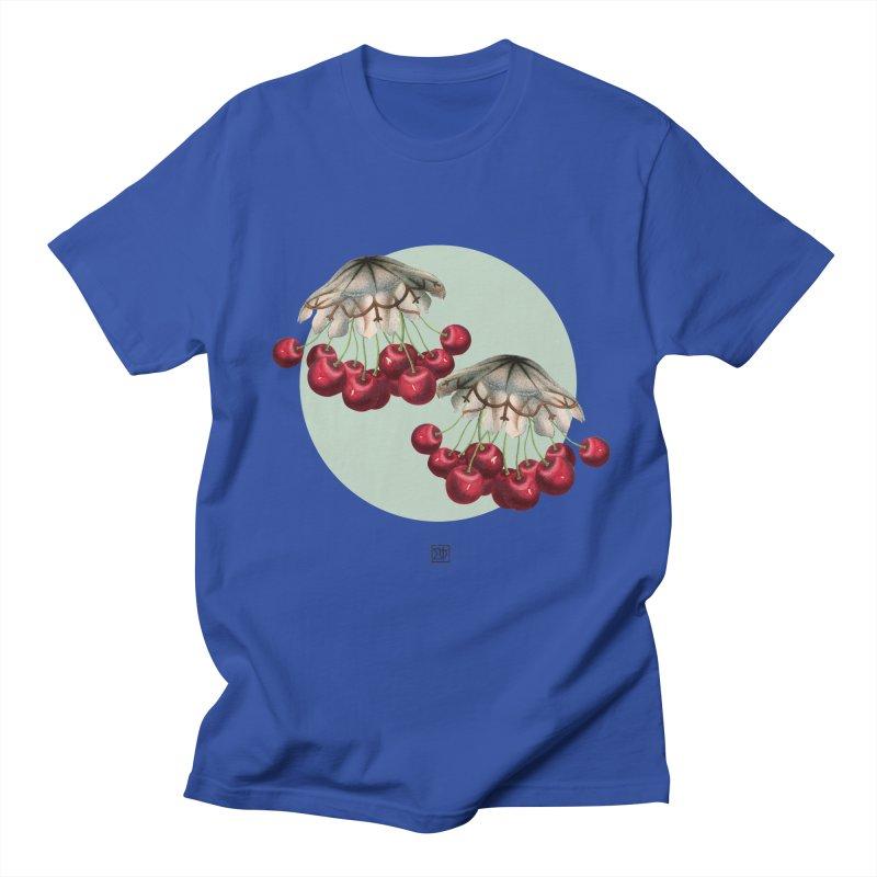 Cherryfish Men's T-Shirt by sigmablade collage