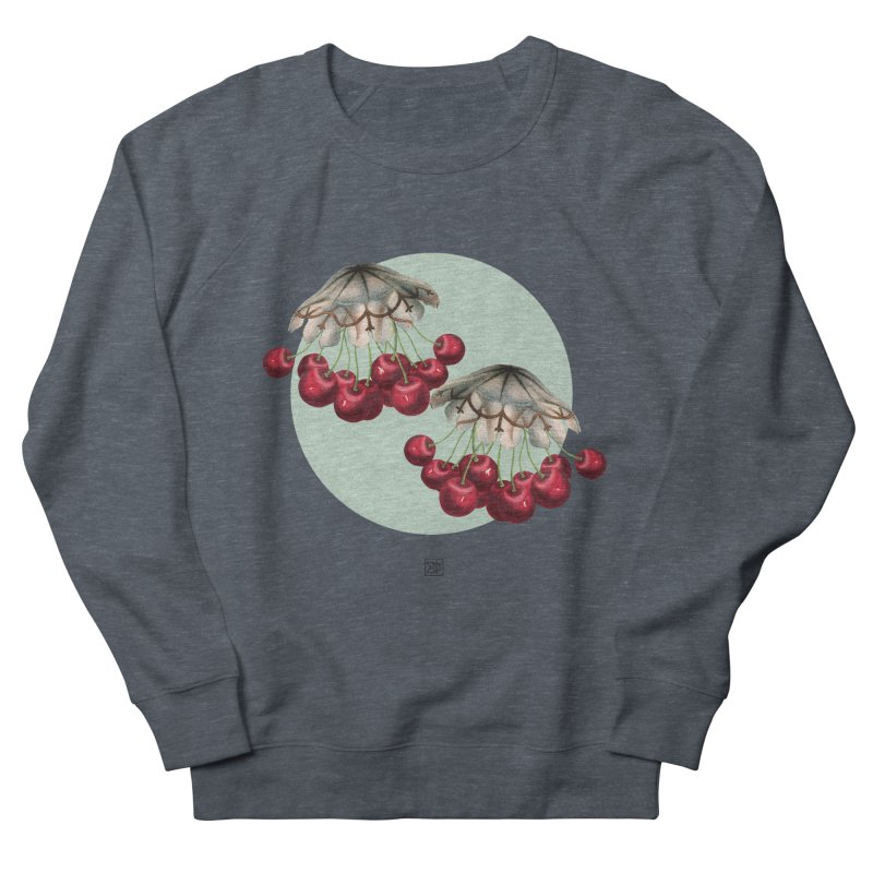 Cherryfish Women's French Terry Sweatshirt by sigmablade collage