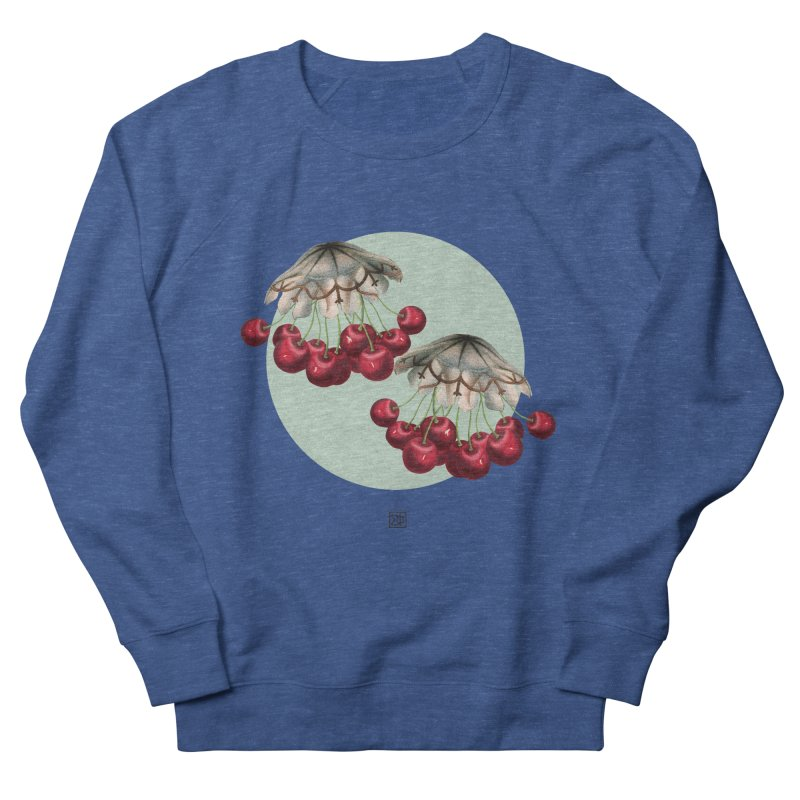 Cherryfish Men's Sweatshirt by sigmablade collage