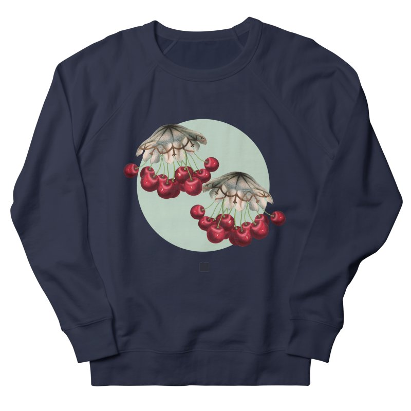 Cherryfish Men's French Terry Sweatshirt by sigmablade collage