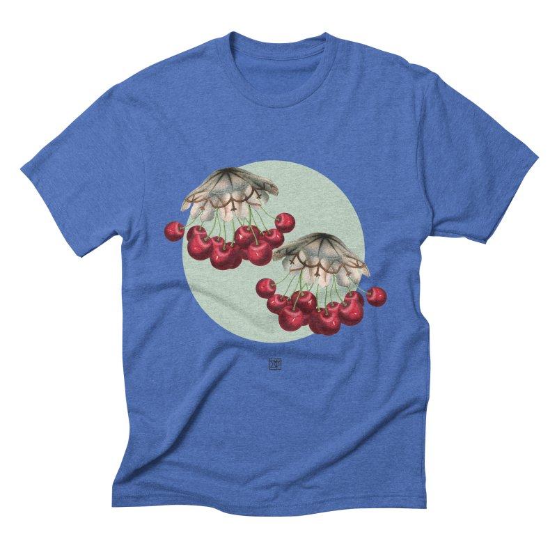 Cherryfish Men's Triblend T-Shirt by sigmablade collage