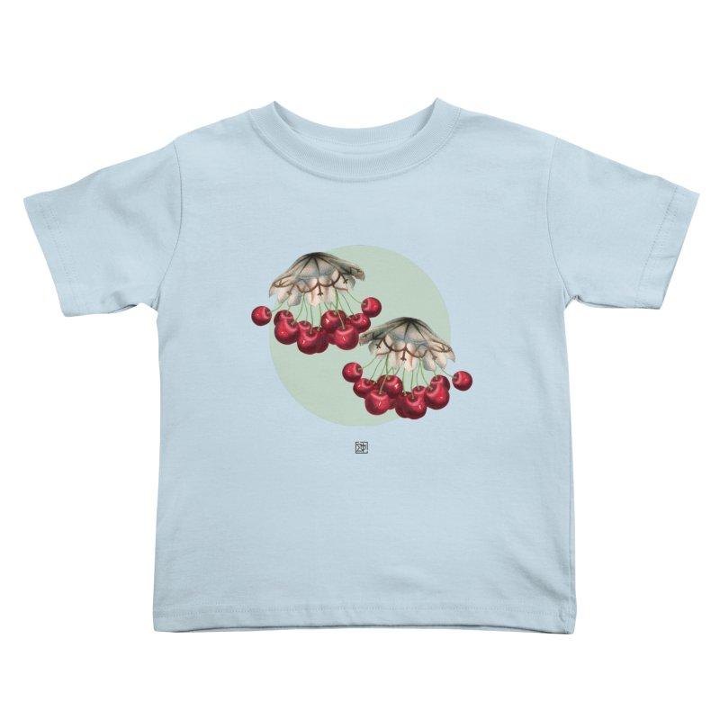 Cherryfish Kids Toddler T-Shirt by sigmablade collage