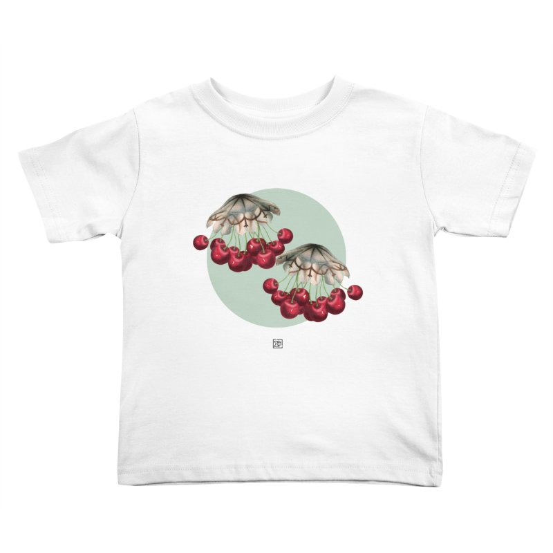 Cherryfish Kids Toddler T-Shirt by sigmablade collage
