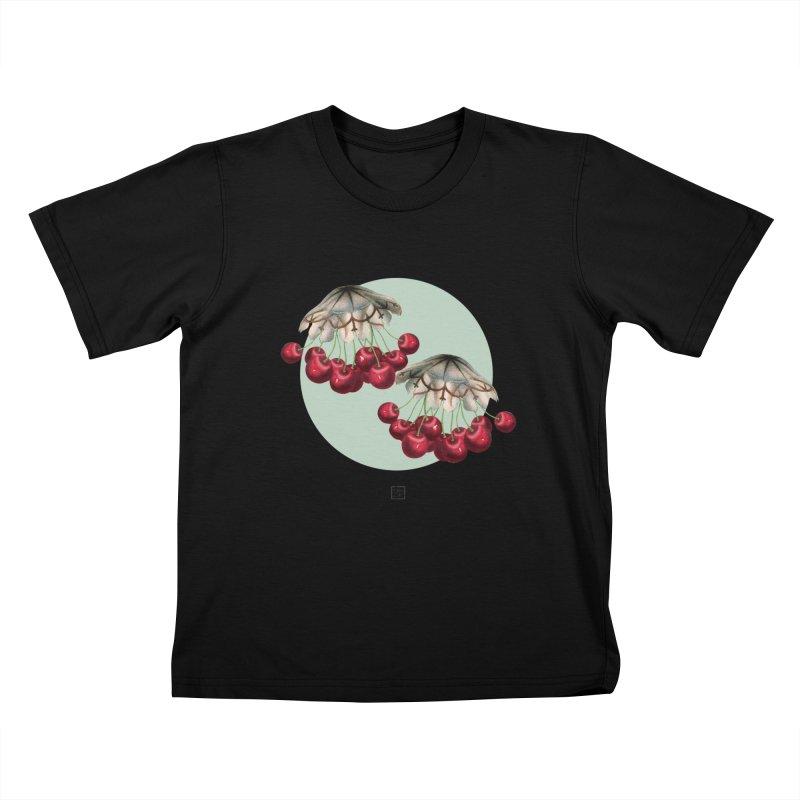 Cherryfish Kids T-Shirt by sigmablade collage