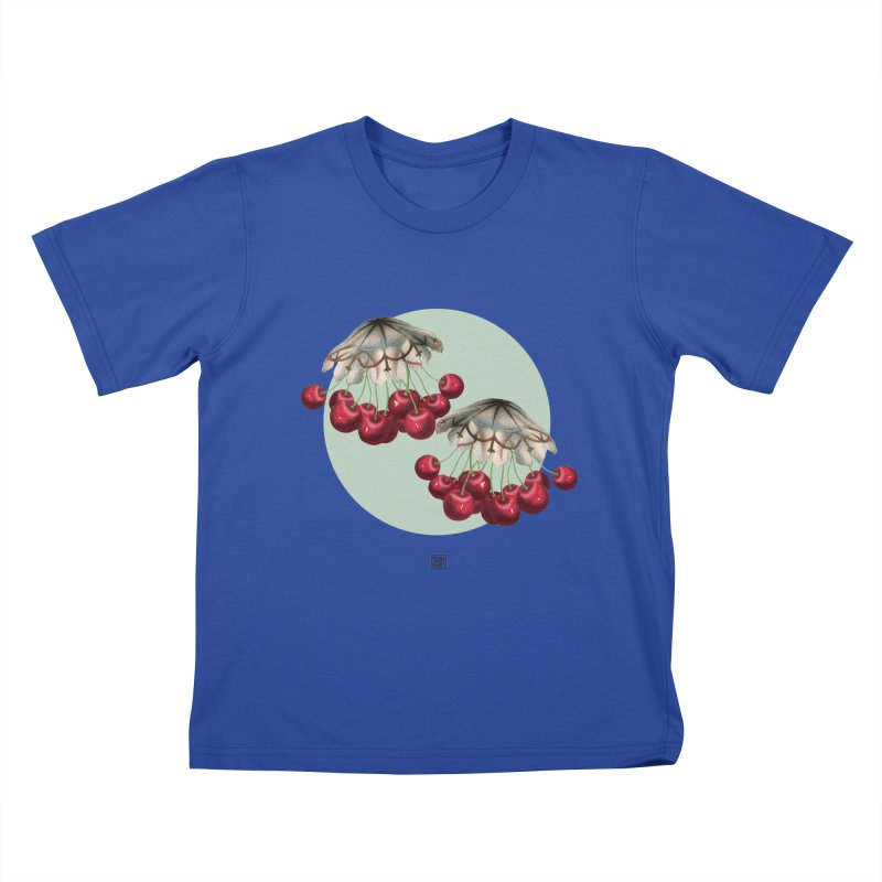Cherryfish Kids T-Shirt by sigmablade collage