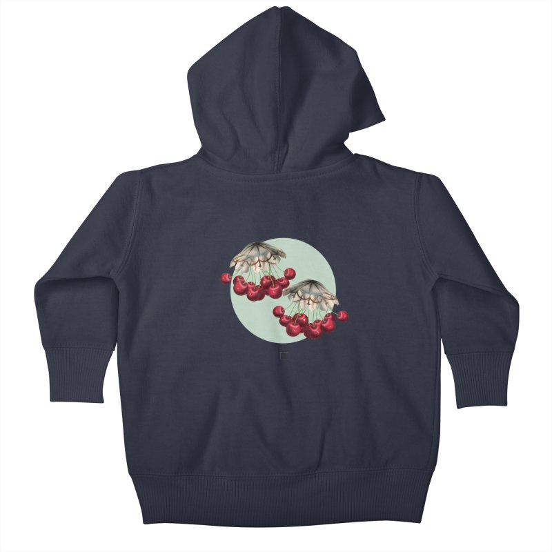 Cherryfish Kids Baby Zip-Up Hoody by sigmablade collage
