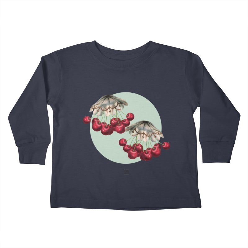 Cherryfish Kids Toddler Longsleeve T-Shirt by sigmablade collage