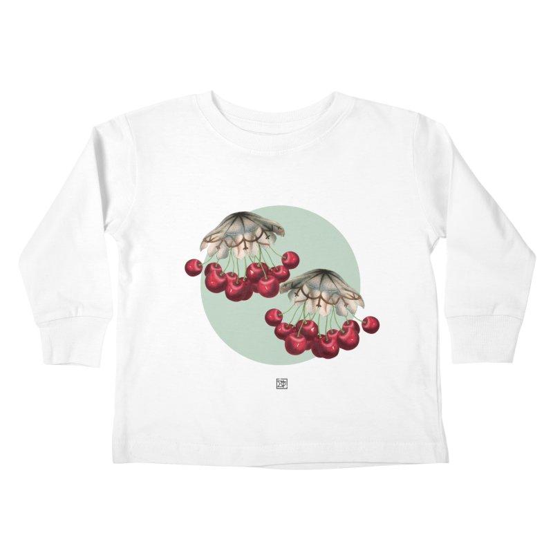 Cherryfish Kids Toddler Longsleeve T-Shirt by sigmablade collage