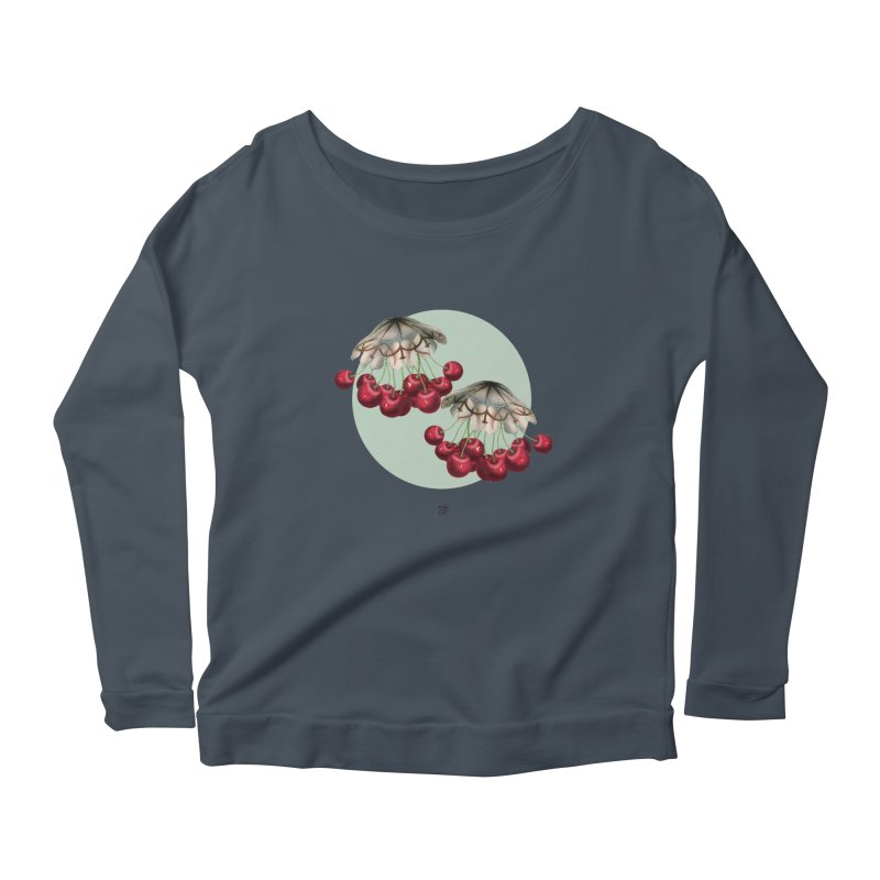 Cherryfish Women's Longsleeve T-Shirt by sigmablade collage