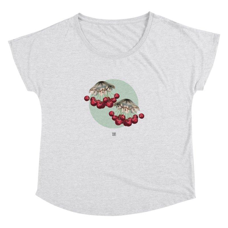 Cherryfish Women's Dolman Scoop Neck by sigmablade collage