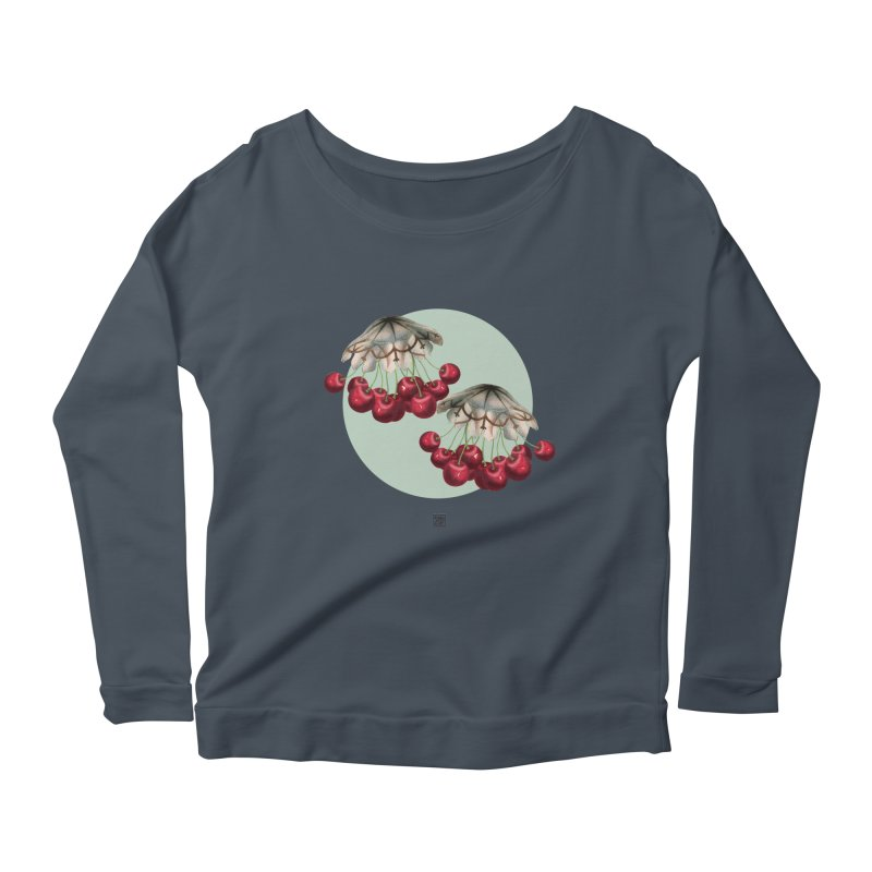 Cherryfish Women's Longsleeve Scoopneck  by sigmablade collage