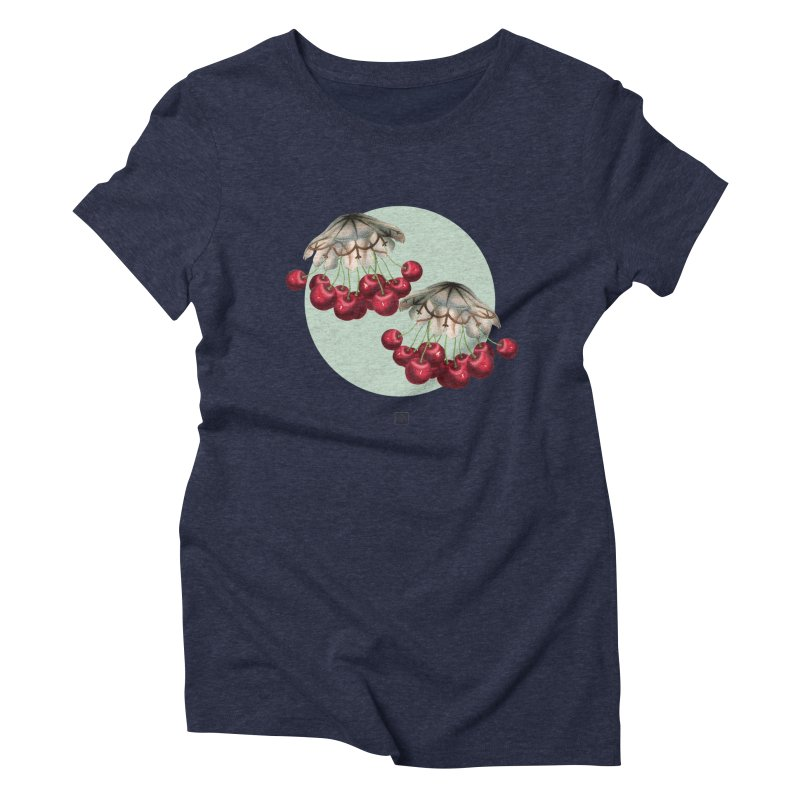 Cherryfish Women's Triblend T-Shirt by sigmablade collage
