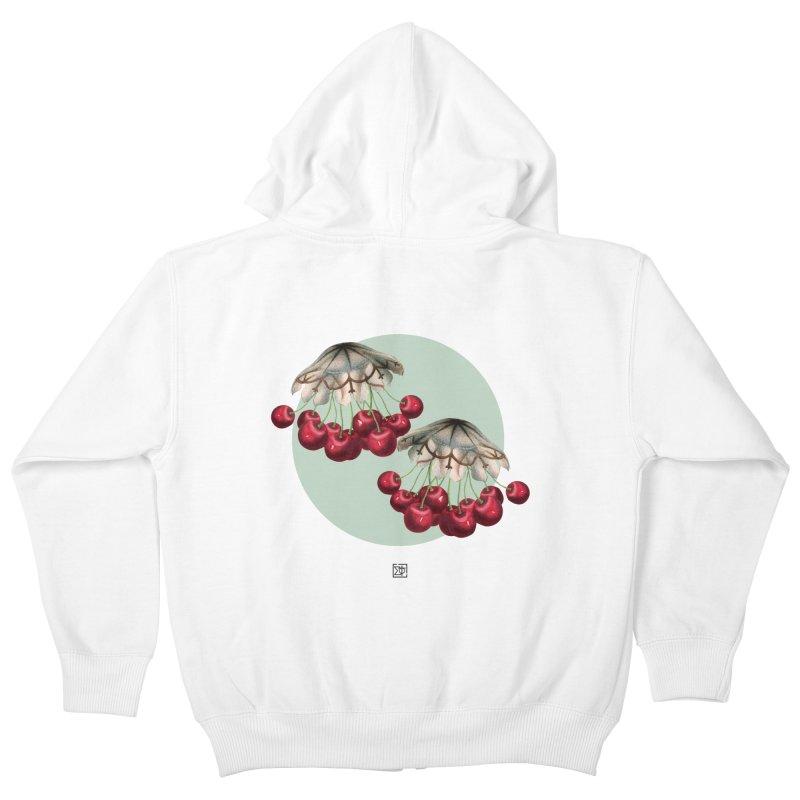 Cherryfish Kids Zip-Up Hoody by sigmablade collage