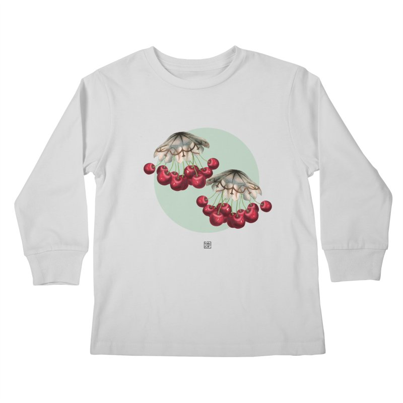 Cherryfish Kids Longsleeve T-Shirt by sigmablade collage