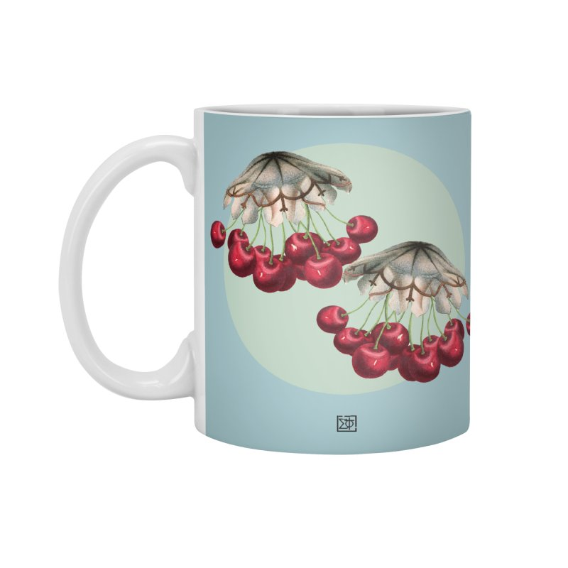 Cherryfish Accessories Mug by sigmablade collage