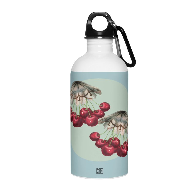 Cherryfish Accessories Water Bottle by sigmablade collage