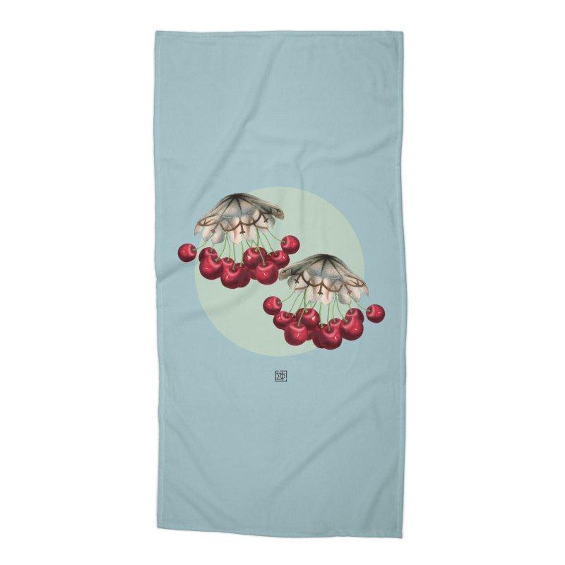 Cherryfish Accessories Beach Towel by sigmablade collage