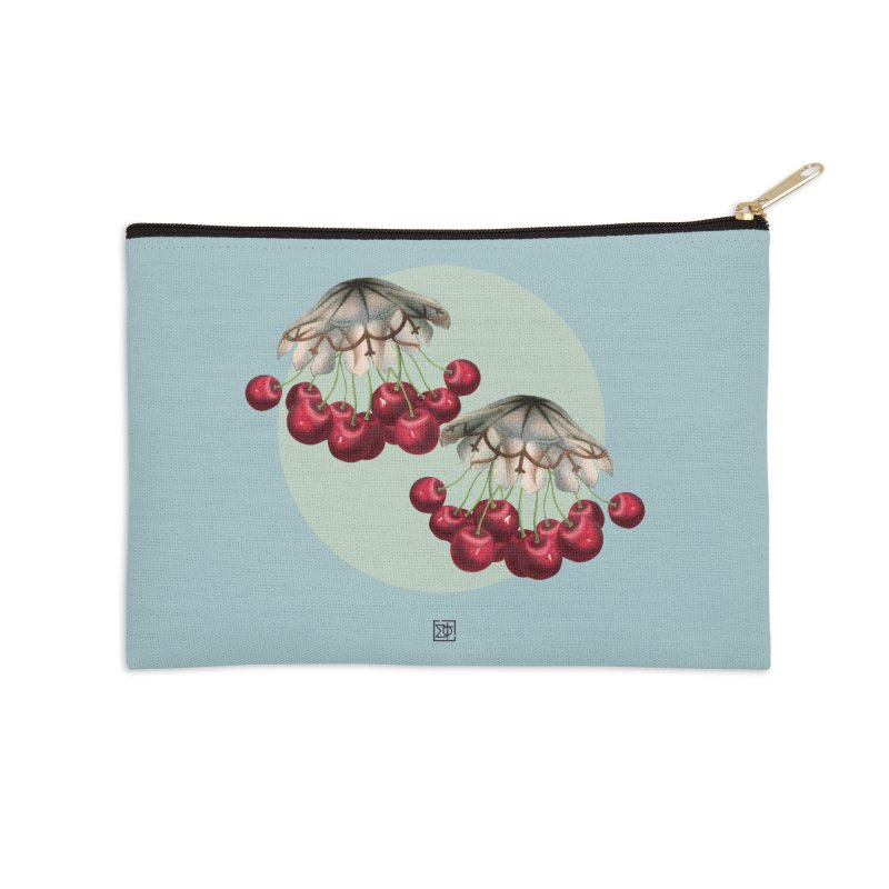 Cherryfish Accessories Zip Pouch by sigmablade collage