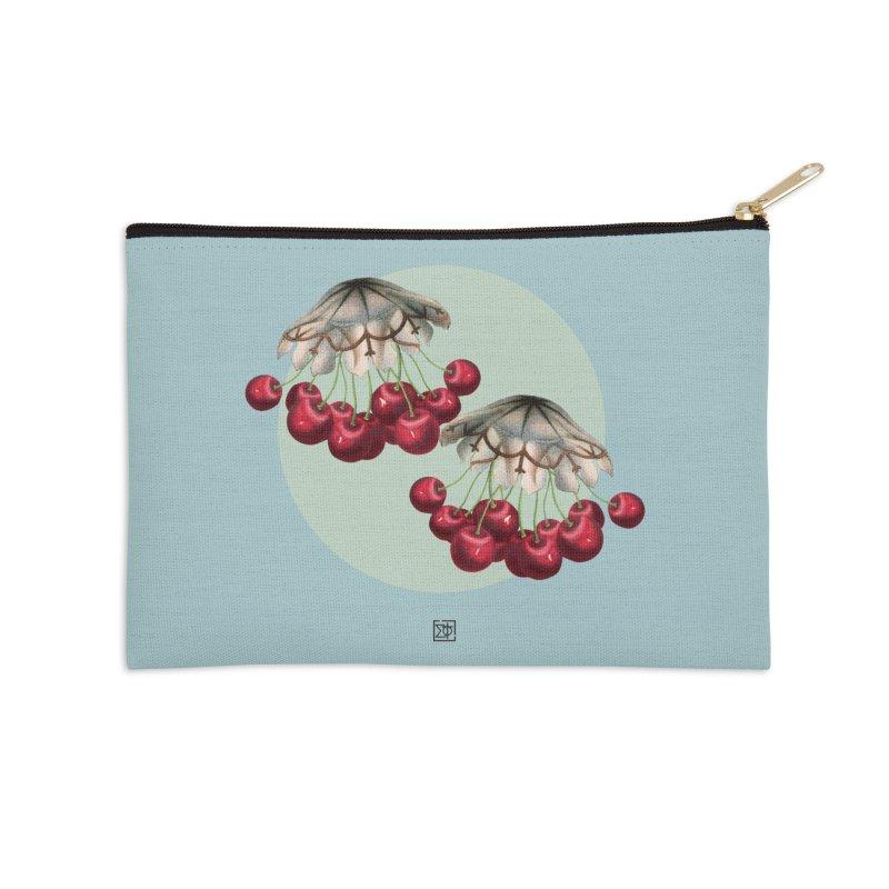 Cherryfish Accessories Zip Pouch by sigmablade collage