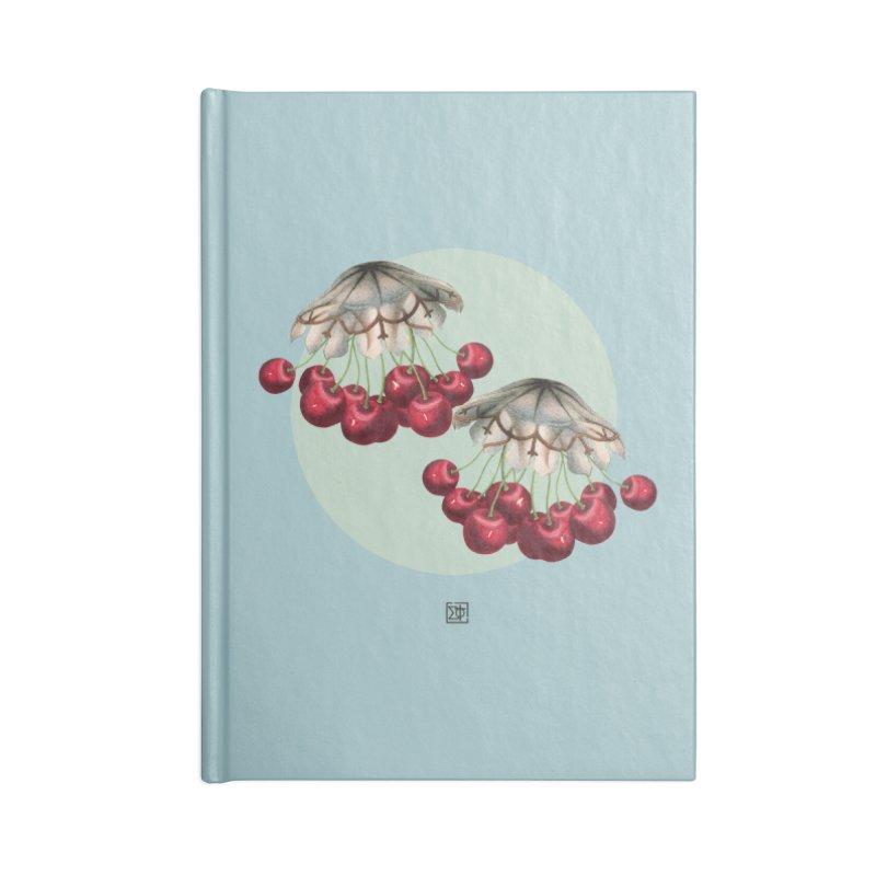 Cherryfish Accessories Blank Journal Notebook by sigmablade collage