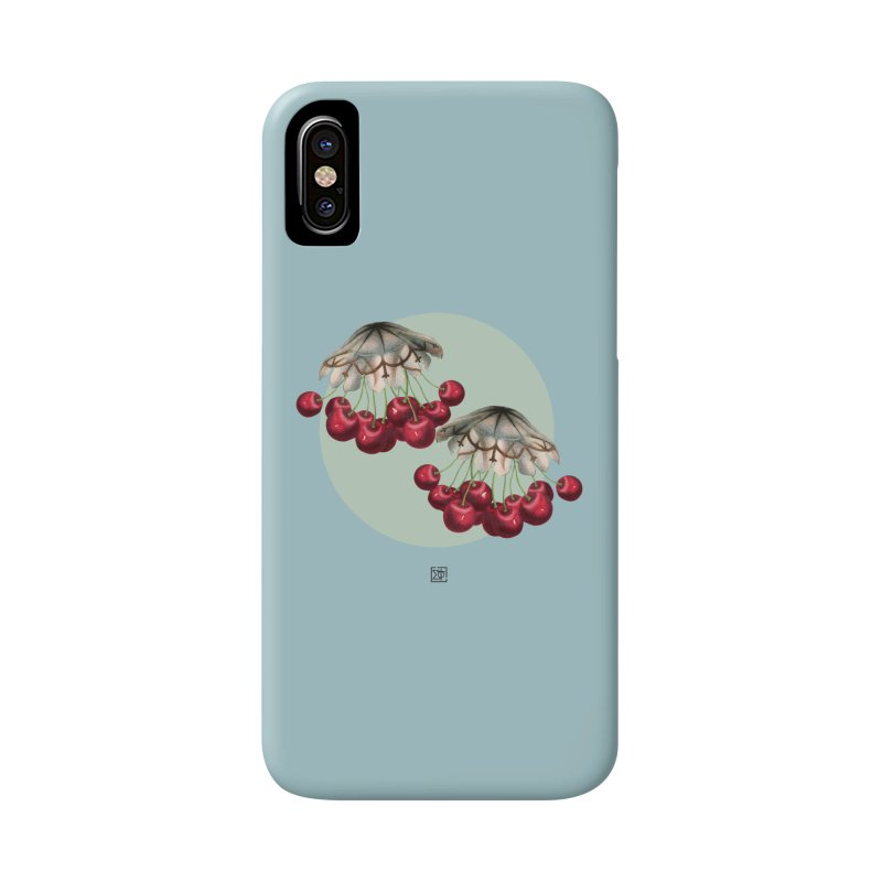 Cherryfish Accessories Phone Case by sigmablade collage