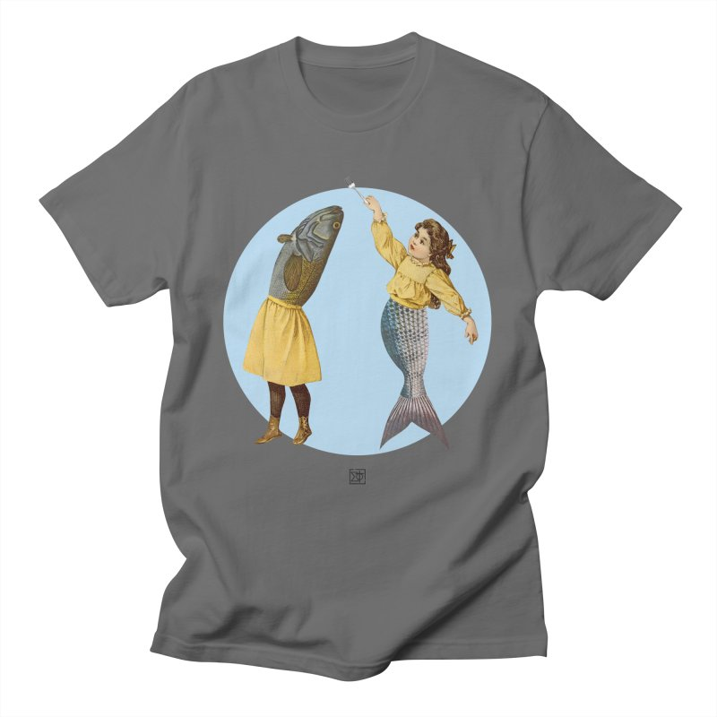 Mer...maid? Men's T-Shirt by sigmablade collage
