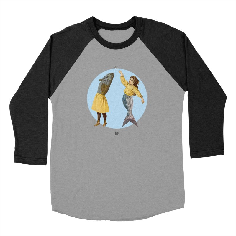Mer...maid? Men's Longsleeve T-Shirt by sigmablade collage