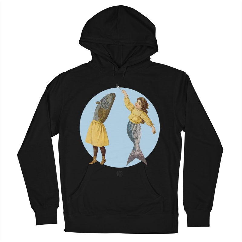 Mer...maid? Women's French Terry Pullover Hoody by sigmablade collage