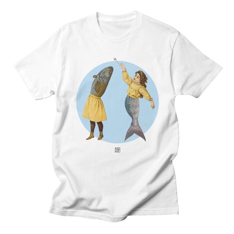 Mer...maid? Men's Regular T-Shirt by sigmablade collage