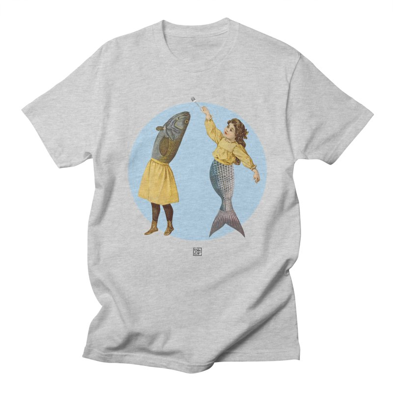 Mer...maid? Women's Unisex T-Shirt by sigmablade collage