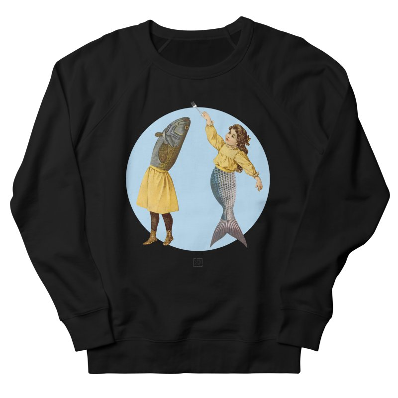 Mer...maid? Women's French Terry Sweatshirt by sigmablade collage