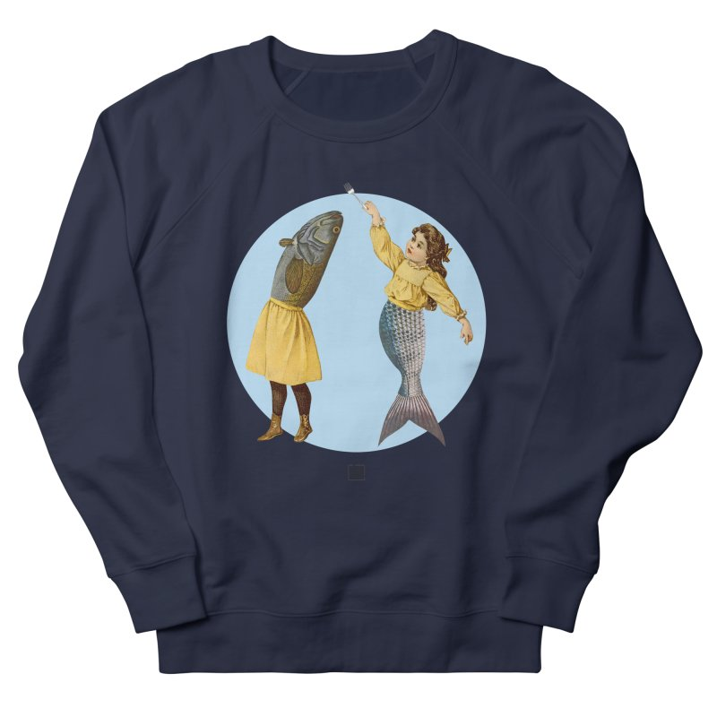 Mer...maid? Women's Sweatshirt by sigmablade collage