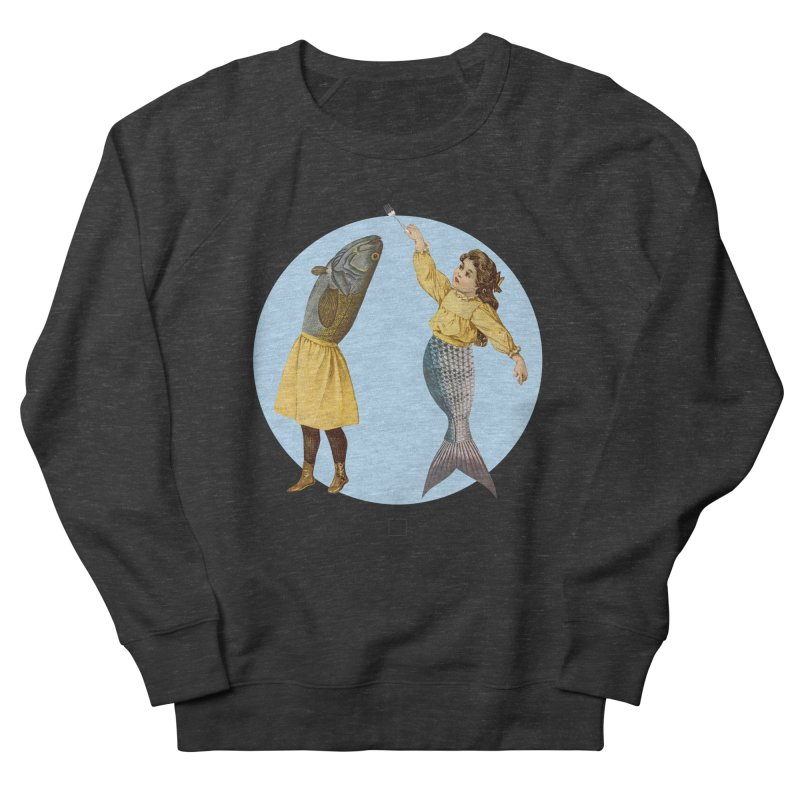 Mer...maid? Men's Sweatshirt by sigmablade collage