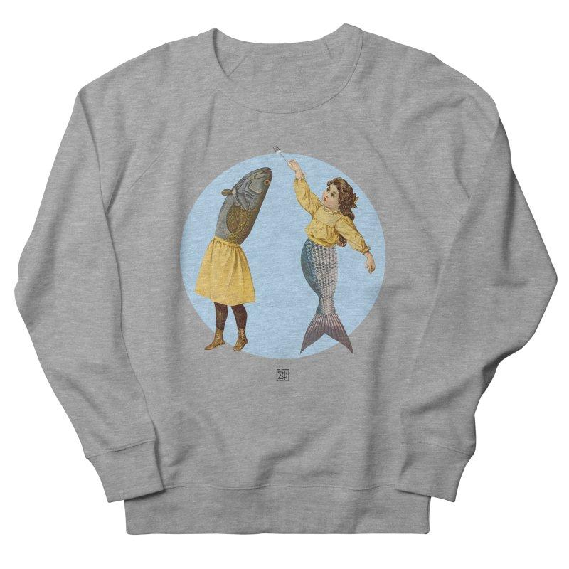 Mer...maid? Men's Sweatshirt by sigmablade collage