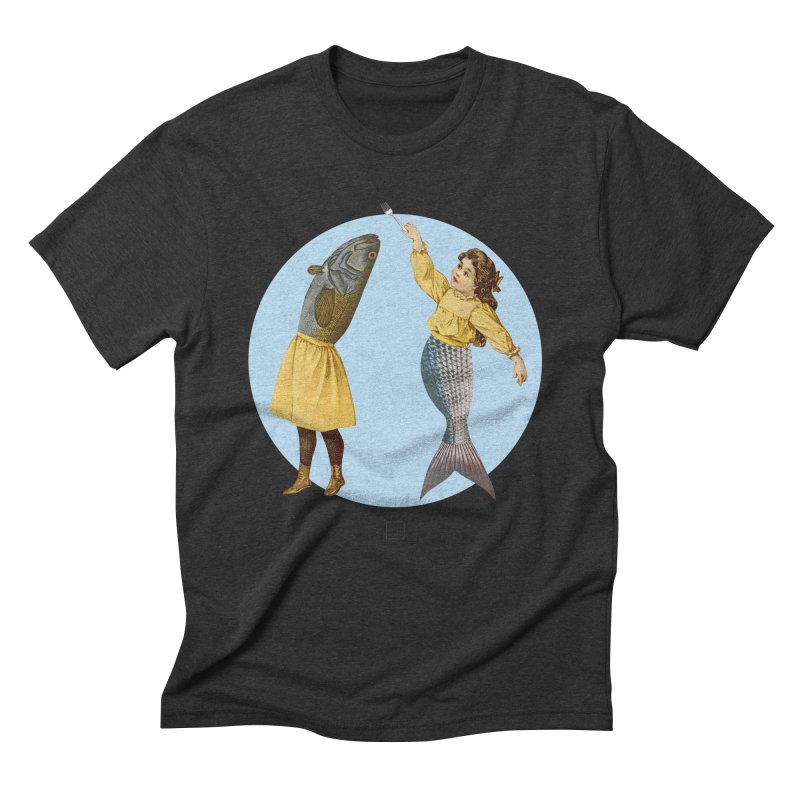 Mer...maid? Men's Triblend T-Shirt by sigmablade collage