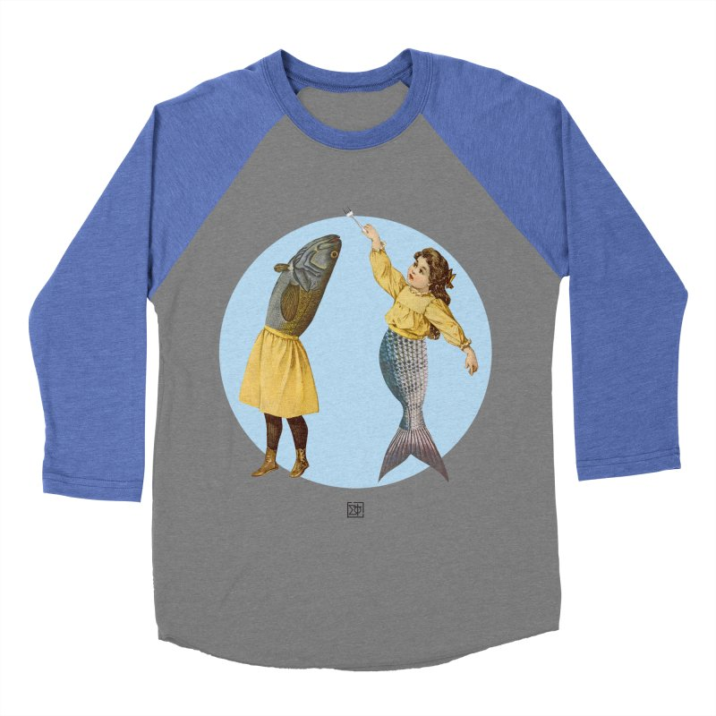Mer...maid? Women's Baseball Triblend T-Shirt by sigmablade collage