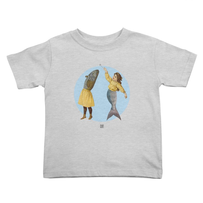 Mer...maid? Kids Toddler T-Shirt by sigmablade collage