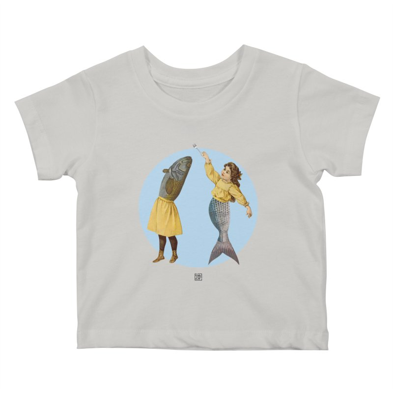 Mer...maid? Kids Baby T-Shirt by sigmablade collage