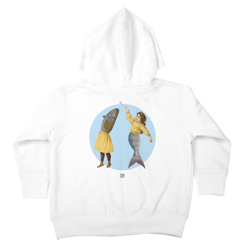Mer...maid? Kids Toddler Zip-Up Hoody by sigmablade collage