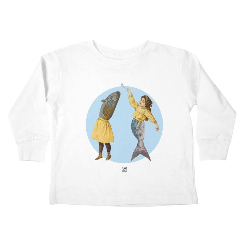 Mer...maid? Kids Toddler Longsleeve T-Shirt by sigmablade collage