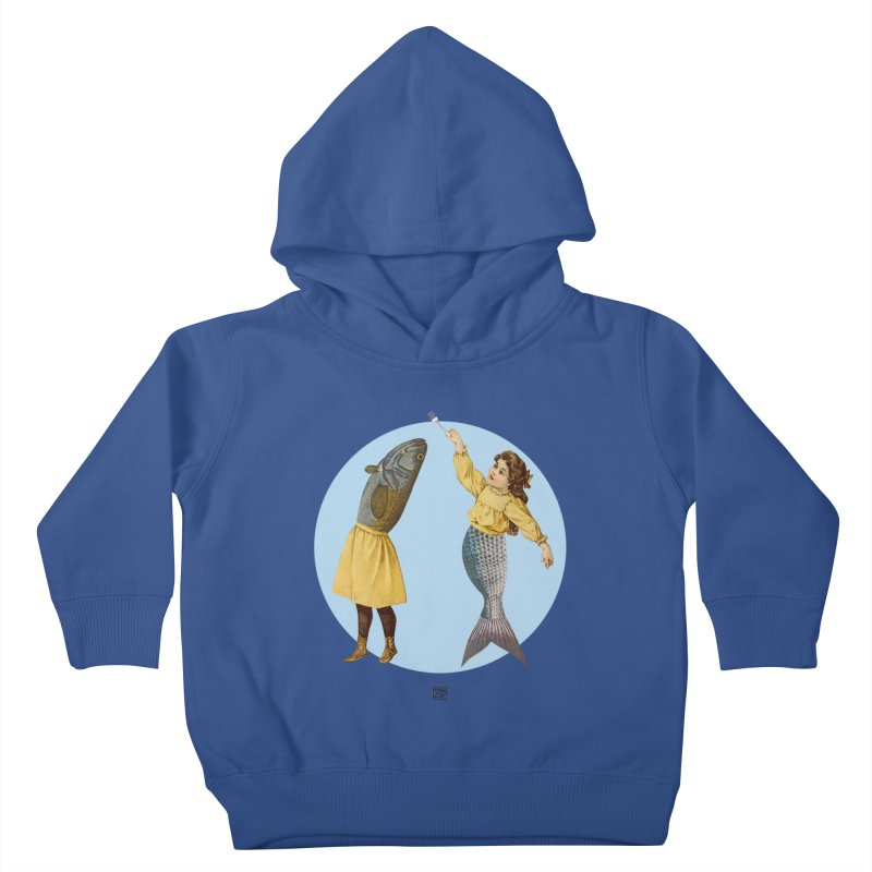 Mer...maid? Kids Toddler Pullover Hoody by sigmablade collage