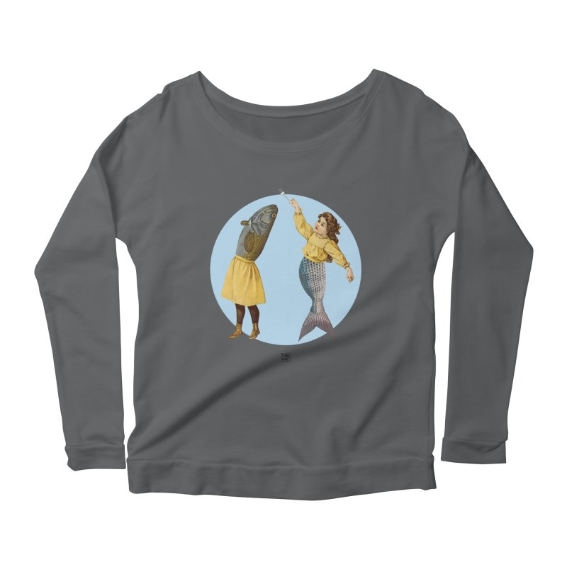 Mer...maid? Women's Longsleeve Scoopneck  by sigmablade collage