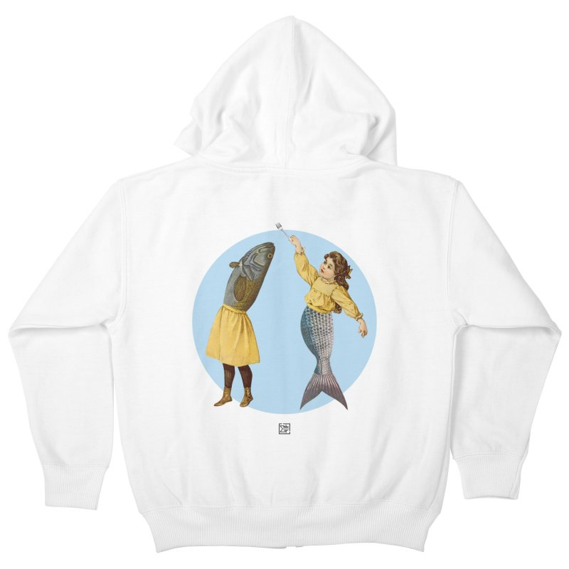 Mer...maid? Kids Zip-Up Hoody by sigmablade collage