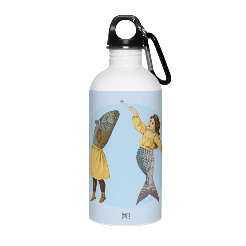 Mer...maid? Accessories Water Bottle by sigmablade collage
