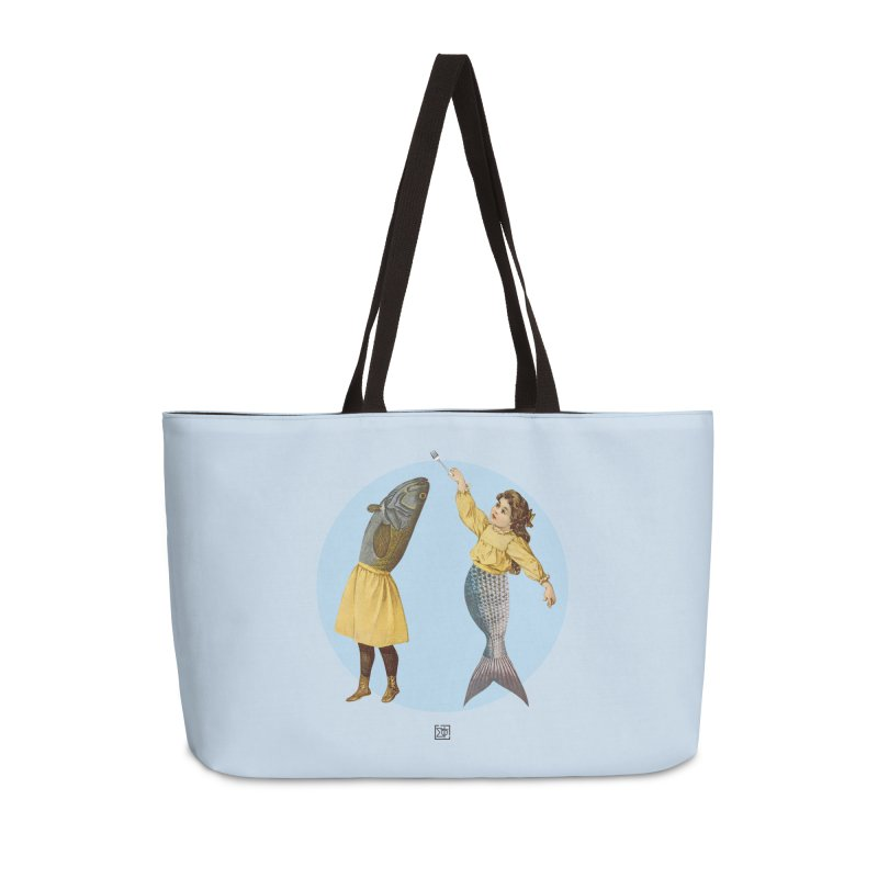 Mer...maid? Accessories Weekender Bag Bag by sigmablade collage