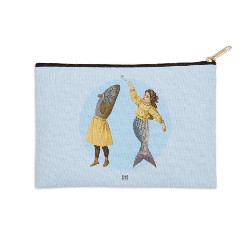 Mer...maid? Accessories Zip Pouch by sigmablade collage
