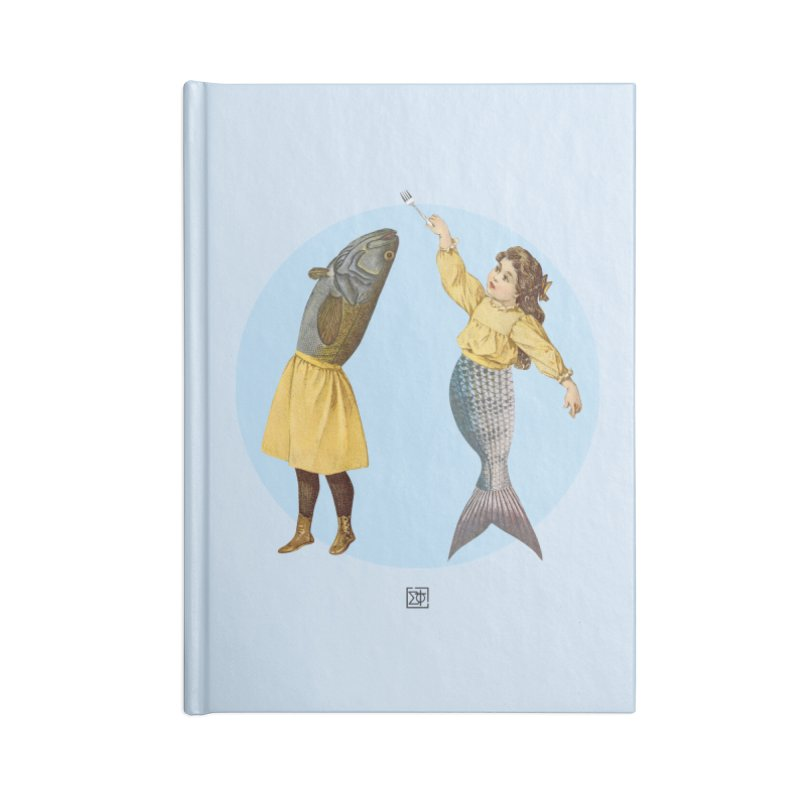 Mer...maid? Accessories Lined Journal Notebook by sigmablade collage