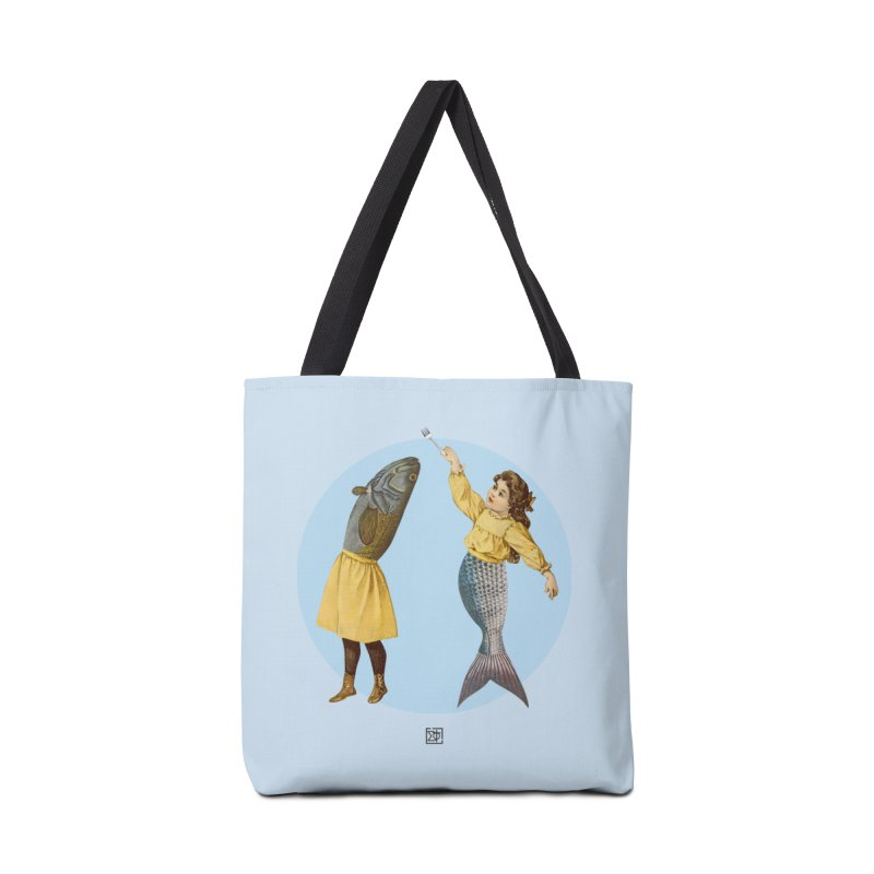 Mer...maid? Accessories Tote Bag Bag by sigmablade collage