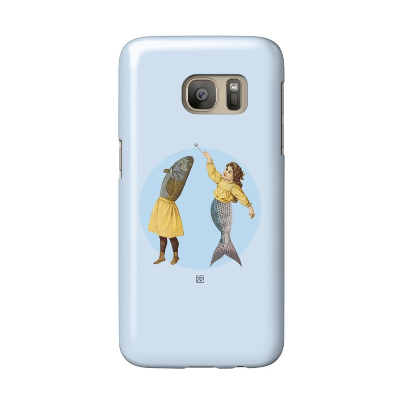 Mer...maid? in Galaxy S7 Phone Case Slim by sigmablade collage
